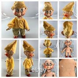 15 Antique American Composition Disney's Snow White & the 7 Drawfs Dolls! Rare