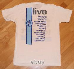 1986 PUBLIC IMAGE LTD vtg concert tour t-shirt (L) RARE 1980's PiL Sex Pistols