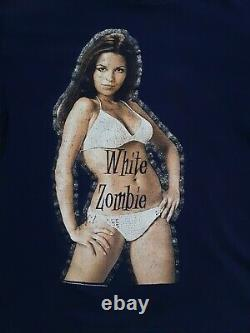 1996 Vintage White Zombie T-Shirt Size XL VERY RARE Great Condition