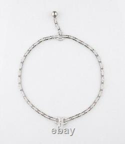 Cartier Diamond and Pearl Agrafe 18k White Gold Rare Vintage Necklace/ Pendant