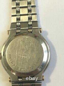 Gucci 9000L Diamond Dial & 24 Diamond Bezel Date Quartz Womens Watch. Very Rare