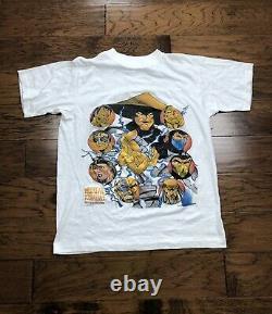 Mortal Kombat Vintage(modern) T Shirt Video Game RARE M. DEAD STOCK