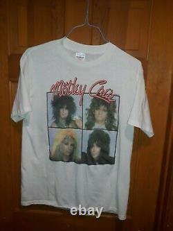 Motley Crue 1987 Girls Girls Girls shirt rare vintage original XL