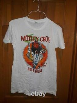 Motley Crue Shout at the Devil 1983-84 shirt rare vintage Large