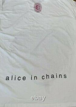 Original alice in chains jar of flies big fly shirt xl Vintage white Ultra Rare