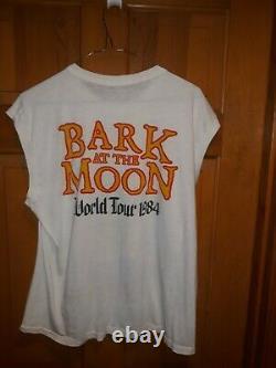 Ozzy Osbourne Wants You Bark at the Moon 1984 shirt rare vintage original XL