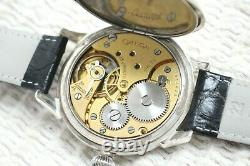 PLAYING CARDS Vintage 1931` rare LUXURY Men`s Swiss movement Marriage Wristwatch