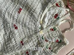 RARE VINTAGE JANTZEN RED CHERRY CHERRIES 1950s SWIM BATHING SUIT