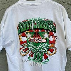 RARE Vintage 1998 Small Soldiers Movie Promo Nascar Movie Promo Tshirt Size XL