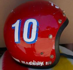 RARE Vintage Bell Red Magnum III Mag 3 Red & White Motorcycle Helmet 7 & 1/8