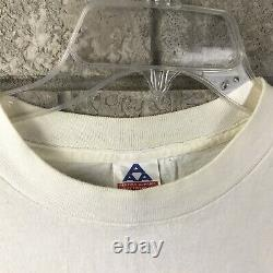 RARE Vintage The Texas Chainsaw Massacre Size XL T Shirt White Movie Promo Vtg