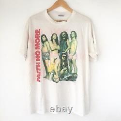 RaRe 1990 Faith No More Vintage Tour Band Shirt 90s Soundgarden Chili Peppers