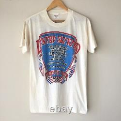 RaRe Vintage LYNYRD SKYNYRD 1987 Tour Concert Rock Band Tee Shirt, 80s Tom Petty