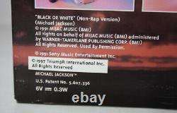 Rare 1995 Michael Jackson 12 Singing Doll Black Or White Street Life New Sealed