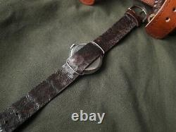 Rare! Gents OMEGA Chronometer WW I 1 Military SWISS TRENCH WRIST WATCH for Men