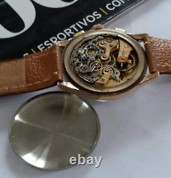 Rare Longines Chronograph 13zn Flyback Vintage Watch 3450