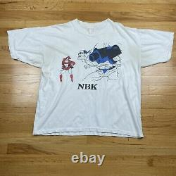 Rare Vintage 1994 Natural Born Killers Movie T Shirt Mask Pulp Fiction 90s NBK