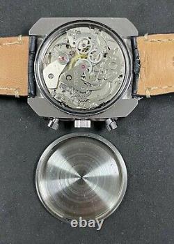 Rare Vintage ROAMER STINGRAY CHRONO Mechanical(Hand-winding) mans watch Cal. 7734