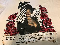 Rare Vintage Selena Y Los Dinos Tour Shirt Size Medium / Large Latin Rock Pop