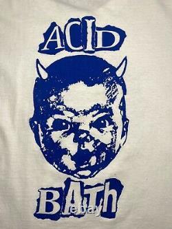 Rare vintage 1996 acid bath dr suess is dead tour tee XL 24x30.5