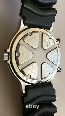 Seiko 8M35-8000 Yacht Timer Sports 150 Antimagnetic 60G Water resistant RARE