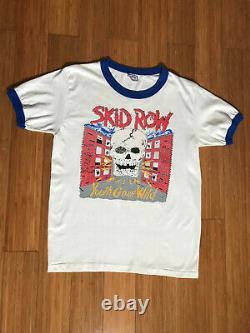 Skid Row Youth Gone Wild 1989 Tour T-Shirt (Rare, Vintage Item)