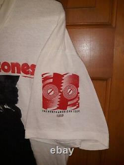 The Rolling Stones 1989 Sticky Fingers Steels Wheels shirt rare vintage XL