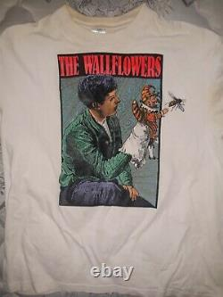 The Wallflowers 1993 shirt rare vintage XL Jacob Dylan Bob Dylan Black Crowes