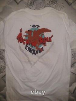 Tom Petty & the Heartbreakers 1987 Rock N Roll Caravan shirt rare vintage XL