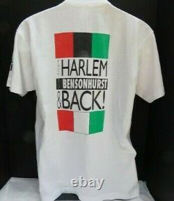 VERY RARE Vintage 1990 Spike Lee Jungle Fever NYC White Crew Tee Shirt Sz Large