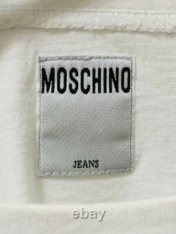 VERY RARE! Vintage Moschino Jeans Breasts/Boobs T-Shirt S/S 1993
