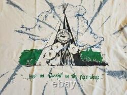 VTG RaRe (1993) NEIL YOUNG Pearl Jam Blind Melon all over Tour CONCERT T-SHIRT