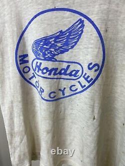 Vintage 1950s Honda motorcycles American Bmw usa tshirt shop tshirt ducati rare