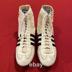 Vintage 1981 Adidas Hercules Rocky IV Style Wrestling Boots Mens US size 11