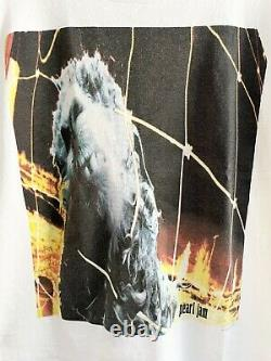 Vintage 1993 Pearl Jam Threadworm tee L/XL Band Rare