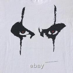 Vintage 1996 The Crow White T-shirt Size XL Single Stitch RARE