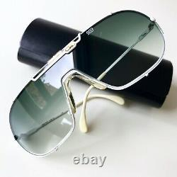 Vintage CAZAL 903 sunglasses col 70 white W. Germany LARGE rare 904 902 901