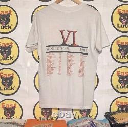 Vintage Circle Jerks Tour T Shirt 1987 Punk Band T Shirt Rare