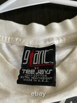 Vintage Lollapalooza Authentic 1992 Tour Rare 90s Concert Festival Tee shirt XL