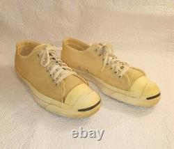 Vintage Mens RARE 60s 70s Made In USA Converse JACK PURCELL Canvas Sz 10