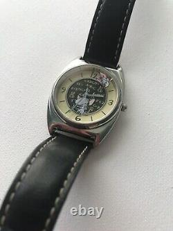 Vintage Pinky & The Brain watch Warner Bros. Studio Store By Fossil VHTF RARE
