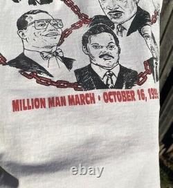 Vintage Rare million man march shirt Size XL