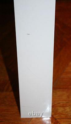 Vintage SYROCO PARSONS Coffee Side Table. White Plastic Cube Modern Design RARE
