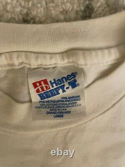Vintage Vincent Van Gogh Art T Shirt 1991 L Rare Hanes Beefy T