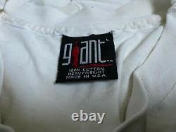 Vintage nirvana in utero t shirt 1993 kurt cobain grunge giant original rare