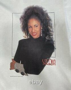 Vtg Selena Quintanilla 95 Q Productions Official Shirt Rare Unworn Size XL